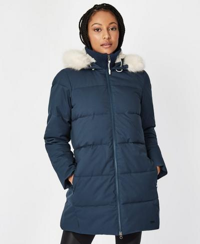 North Pole Jacket, Beetle Blue | Sweaty Betty