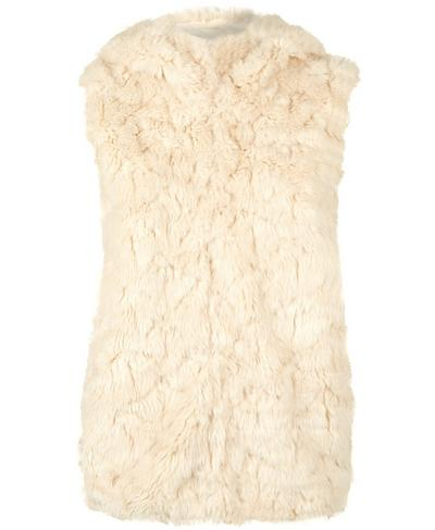 Faux Fur Vest, OATMEAL | Sweaty Betty