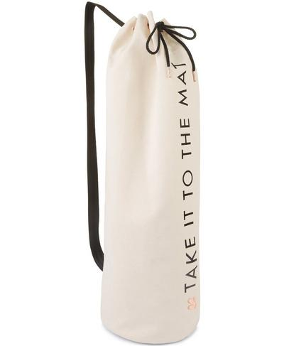 Yoga Mat Bag, Oatmeal Fleck | Sweaty Betty