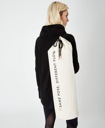 Yoga Mat Bag, Westfjords White | Sweaty Betty