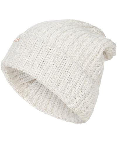 Chunky Rib Beanie, Westfjords White | Sweaty Betty