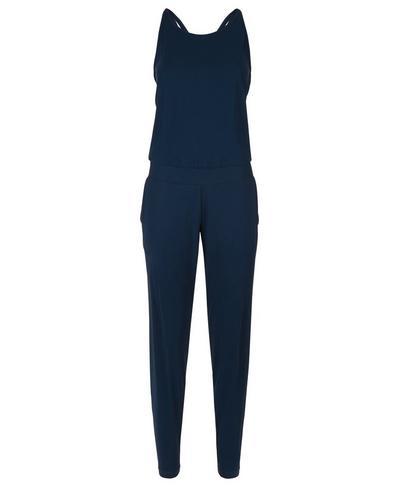 Supinity Jumpsuit, Beetle Blue | Sweaty Betty