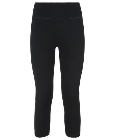Zero Gravity Crop Run Leggings, Black | Sweaty Betty