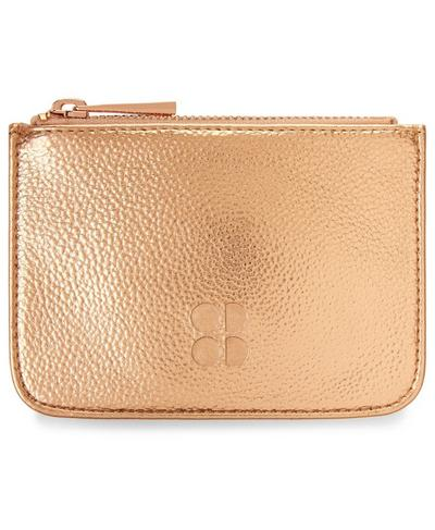 Metallic Coin Purse, Rose Gold | Sweaty Betty