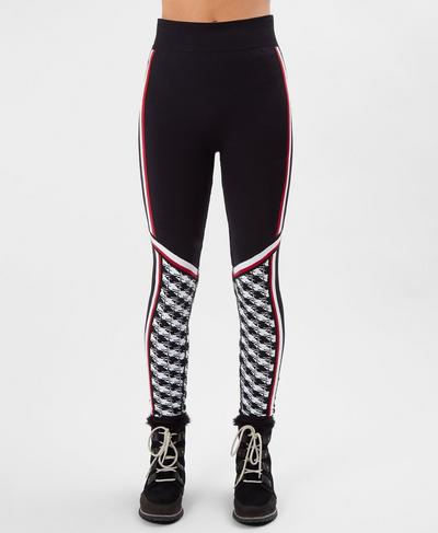 Ski Betty Seamless Base Layer Workout Leggings, Ski Betty Jacquard | Sweaty Betty