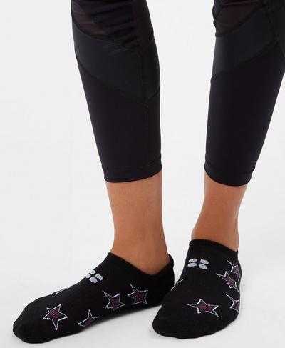 Holiday Sneaker Sock 3 Pack, Multi | Sweaty Betty