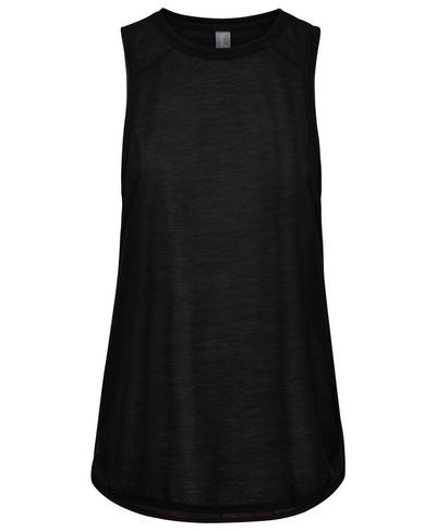 Pacesetter Run Tank, Black | Sweaty Betty