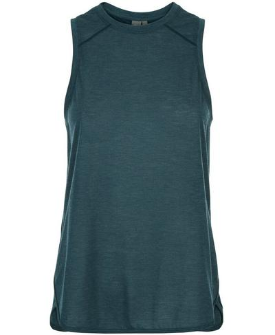 Pacesetter Run Tank, Midnight Teal | Sweaty Betty