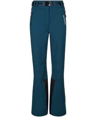 Astro Softshell Ski Pants, Beetle Blue | Sweaty Betty