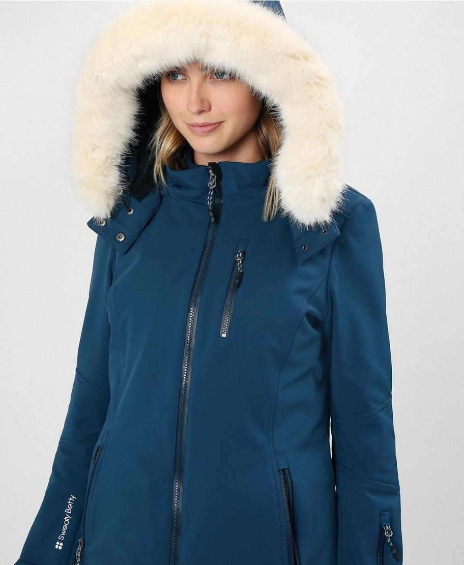 dbb5cb81acf Exploration Softshell Ski Jacket - Beetle Blue