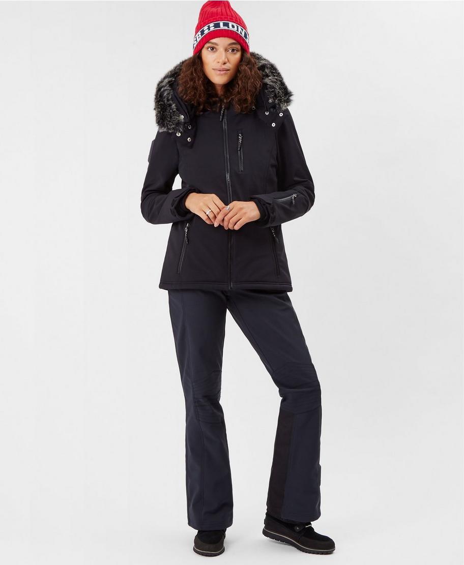 44bad010d1e Exploration Softshell Ski Jacket - Black