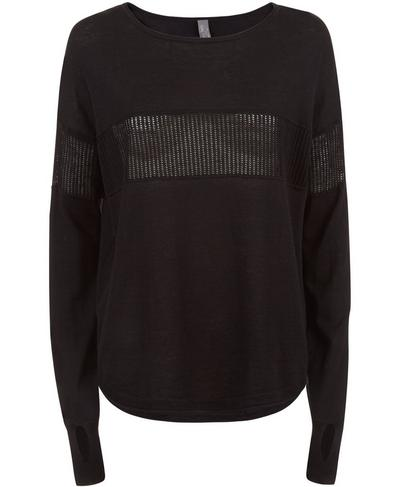 Summer Position Sweater, Black | Sweaty Betty