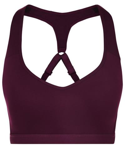 Ultimate Workout Bra, Aubergine | Sweaty Betty
