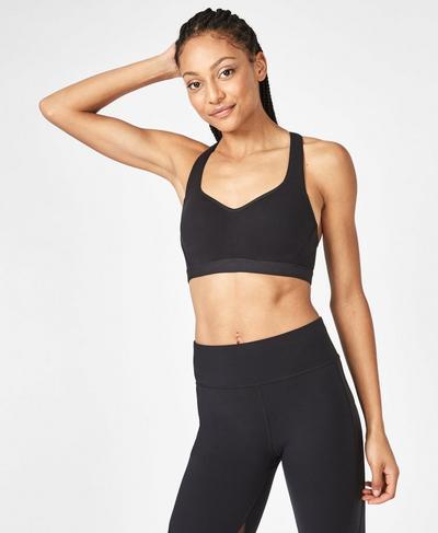 Ultimate Workout Bra, Black | Sweaty Betty