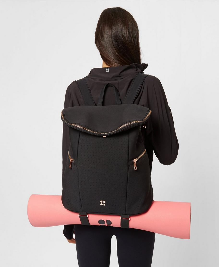 51952c85b31a36 All Sport Backpack - Black | Women's Bags | Sweaty Betty