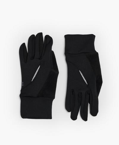 Run Gloves, Black | Sweaty Betty