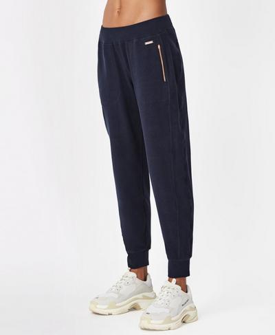 Luxe Liberty Pants, Beetle Blue | Sweaty Betty