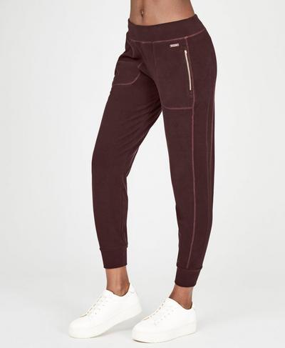 Luxe Liberty Pants, Black Cherry | Sweaty Betty
