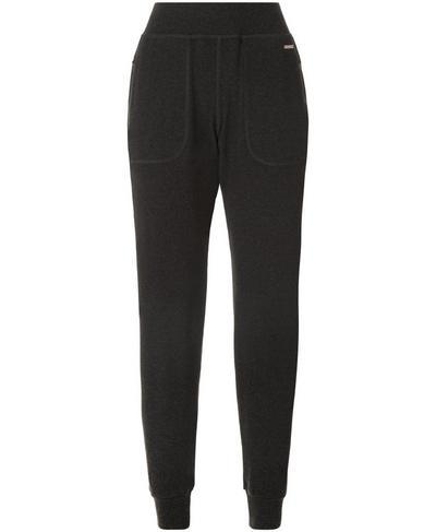 Luxe Liberty Pants, Black Marl | Sweaty Betty