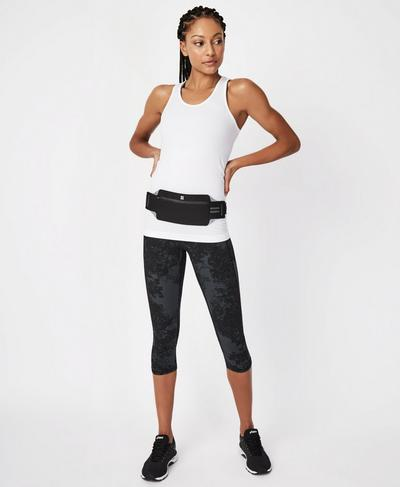 Swift Running Belt, Black | Sweaty Betty