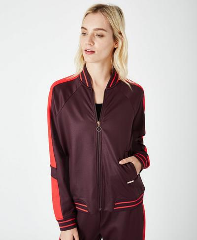 Craft Track Jacket, Aubergine | Sweaty Betty