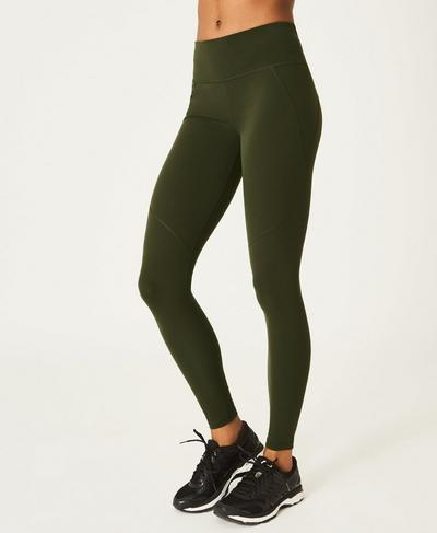 Power Workout Leggings, Dark Forest | Sweaty Betty