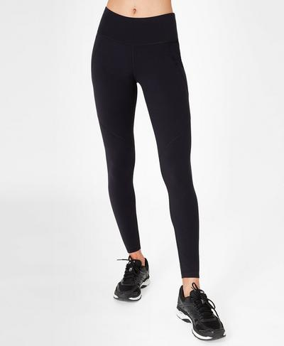 Power Workout Leggings, Black | Sweaty Betty