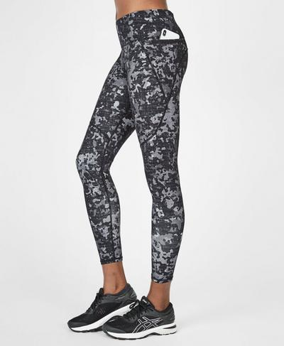 Power 7/8 Workout Leggings, Monotone Camo Print | Sweaty Betty