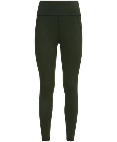 Reversible 7/8 Yoga Leggings, Dark Forest | Sweaty Betty