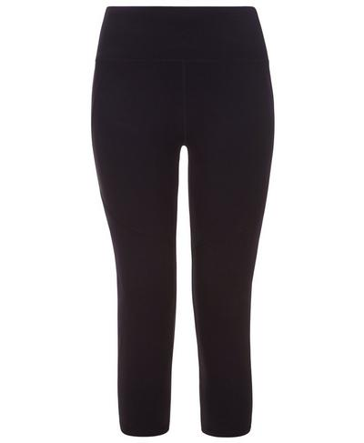 Power Crop Workout Leggings, Black | Sweaty Betty