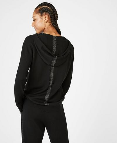 Merino Lounge Sweater, Black | Sweaty Betty