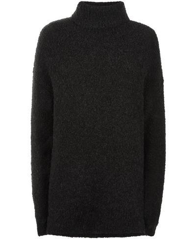 Woodland Knitted Sweater, Black | Sweaty Betty