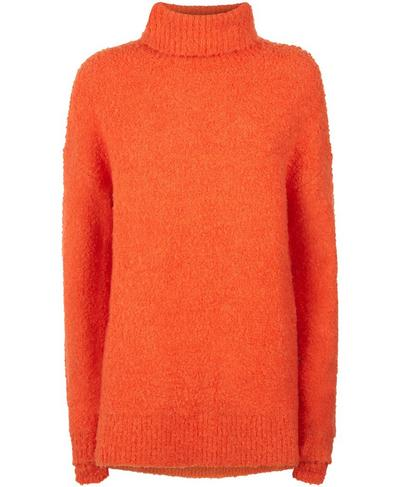 Woodland Knitted Sweater, Orange | Sweaty Betty