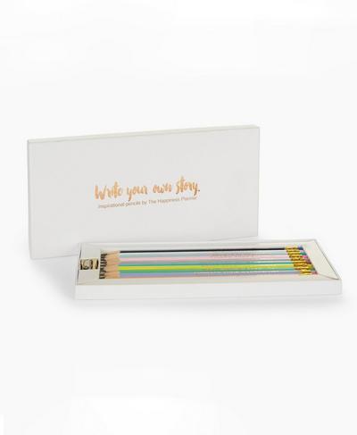 Inspirational Pencils, Rose Gold   Sweaty Betty