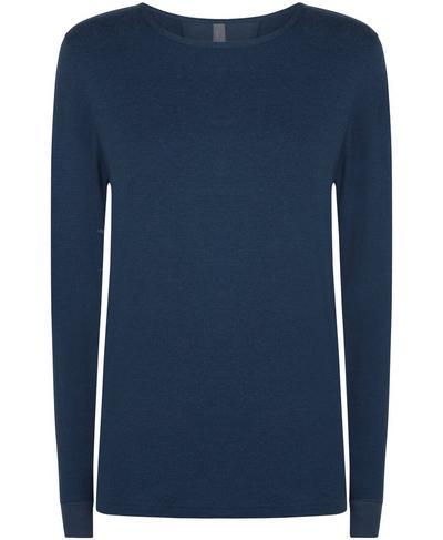 Enchant Long Sleeve Top, Beetle Blue | Sweaty Betty