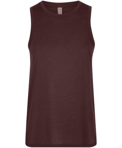 Pacesetter Running Vest, Black Cherry | Sweaty Betty