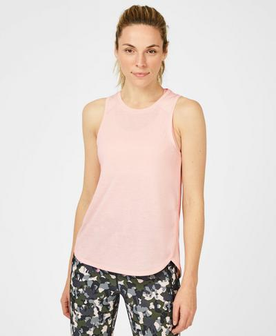 Pacesetter Running Tank, Liberated Pink | Sweaty Betty
