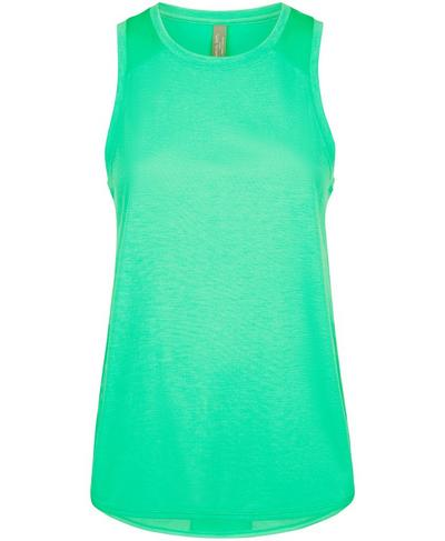 Pacesetter Running Tank, Lime Gello Green | Sweaty Betty