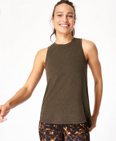 Pacesetter Running Tank, Turkish Coffee Brown | Sweaty Betty