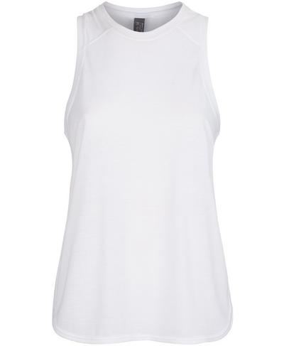 Pacesetter Running Vest, White | Sweaty Betty