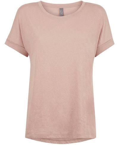Ab Crunch Gym T-Shirt, Velvet Rose Pink | Sweaty Betty