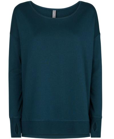 Simhasana Sweatshirt, Beetle Blue | Sweaty Betty