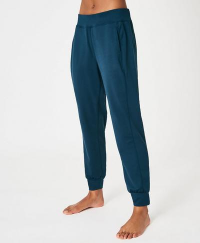 Gary Yoga Pants, Beetle Blue | Sweaty Betty