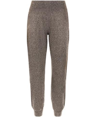 Gary Yoga Pants, Dark Taupe Marl | Sweaty Betty