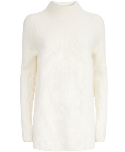 Spirit Knitted Sweater, Oatmeal Marl | Sweaty Betty
