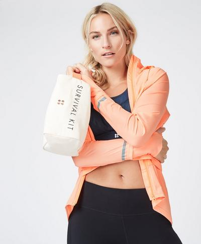 Canvas Wash Bag, Westfjords White | Sweaty Betty