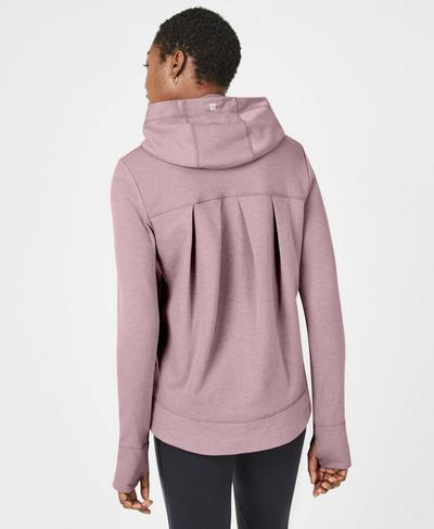 Jog On Running Hoodie, Velvet Rose | Sweaty Betty