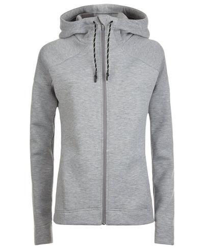 Cross Train Hoodie, Silver Grey Marl | Sweaty Betty