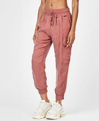 Cargo 7/8 Pants, Rust Marl | Sweaty Betty