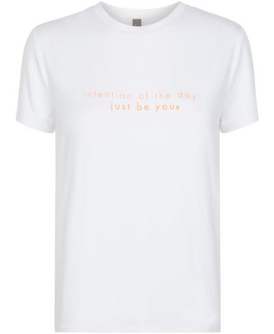 Euphoria Short Sleeve Workout T-Shirt, White D | Sweaty Betty